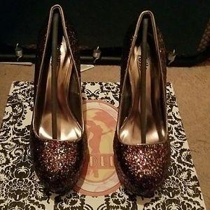 Sexy glitter heels